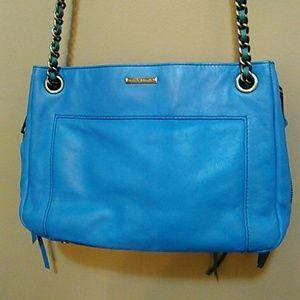 Rebecca minkoff leather purse
